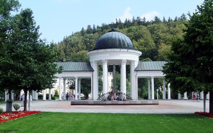 Курорт Марианске Лазне - зелёная жемчужина Чехии. 46725