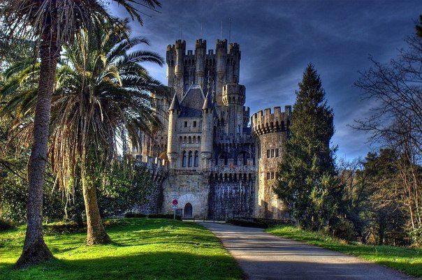 1000-летний замок Бутрон, Испания (604x401, 84Kb)