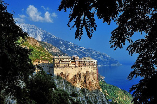 Гора Афон, Греция (604x400, 79Kb)