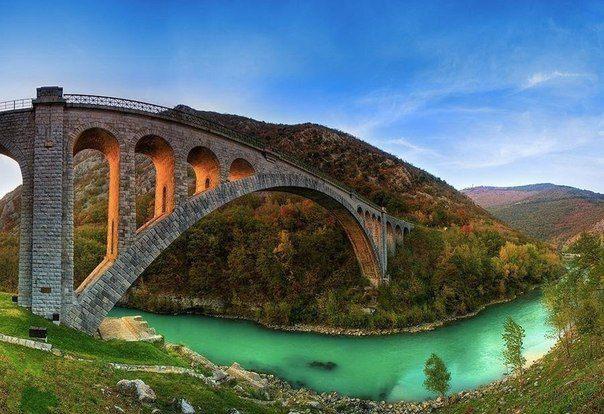 Мост Солкан, Словения (604x414, 62Kb)