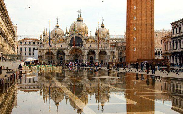 Площадь Сан-Марко, Венеция, Италия (604x377, 59Kb)