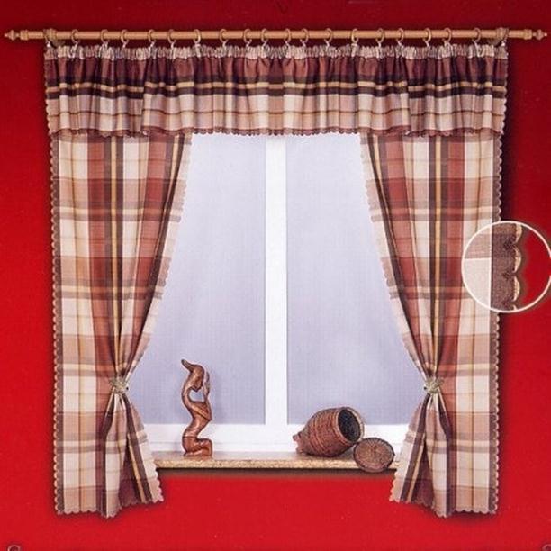 Шить шторы для кухни короткие