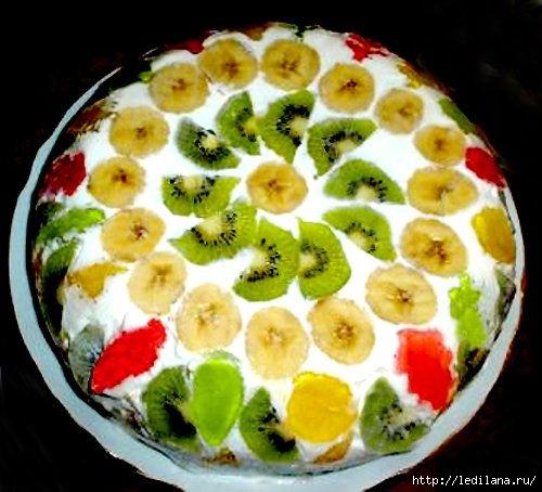 Торт в аэрогриле (500x454, 135Kb)