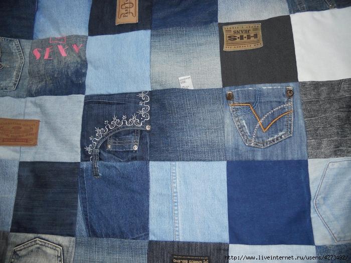 Купальник сшить из старых джинсов