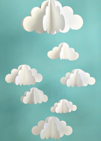 Как сделать облака своими руками