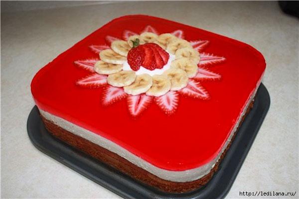 торт с фруктами (600x400, 116Kb)