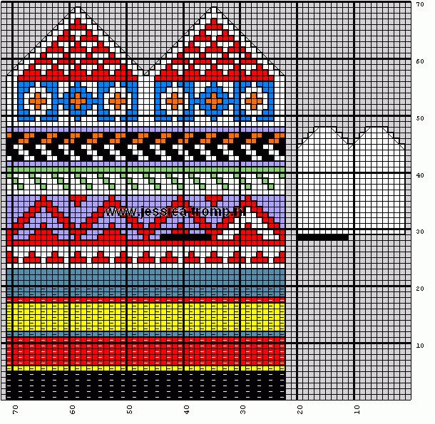 Орнаменты для варежек вязаных спицами/4683827_80108289_large_baby20mittens20wantjes8 (610x595, 5Kb)
