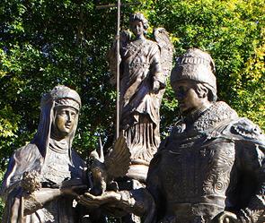 Памятник Петру и Февронии (295x249, 63Kb)