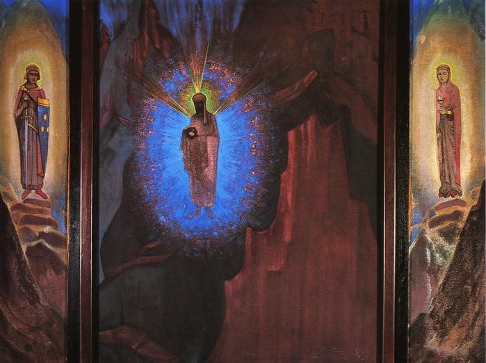 Триптих « Да здравствует Король» «Fiat Rex» (700x522, 116Kb)