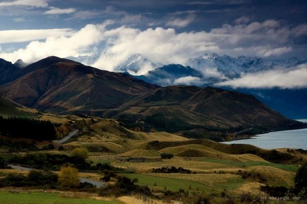 Новая Зеландия - завораживающие пейзажи7 (600x400, 197Kb)