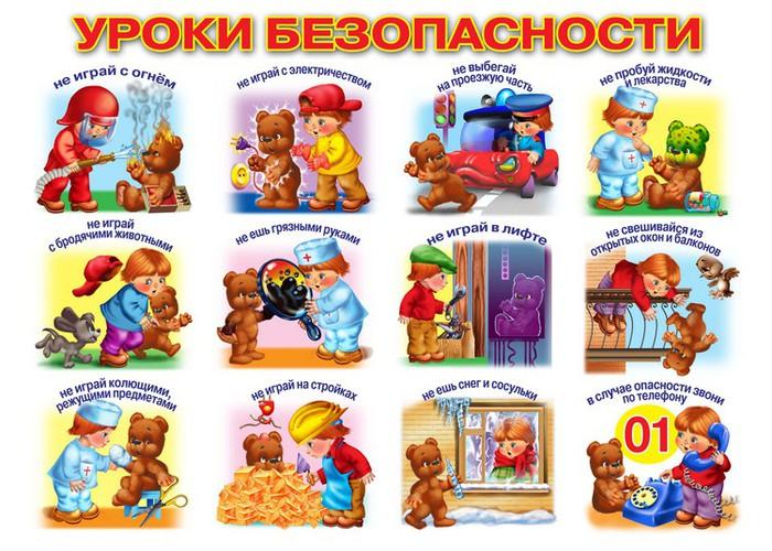 Безопасность в быту в картинках для дошкольников 9