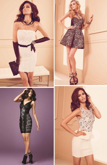 Мода 2013 модные платья