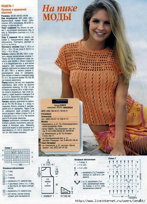 Вязание летнее спицами для женщин модные модели