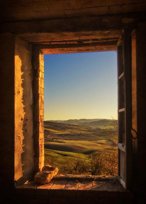 Красивый вид из окна - подборка фотографий разных авторов 13 (503x700, 321Kb)
