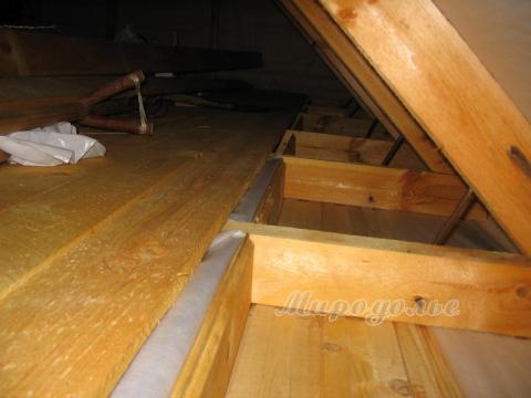 Пол между этажами своими руками в деревянном доме