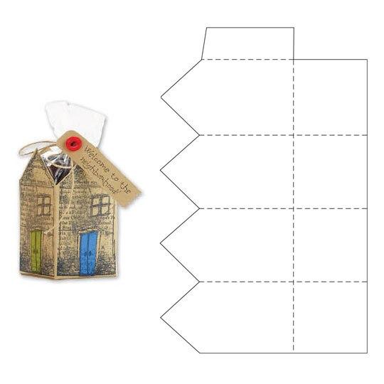 Коробочка для упаковки схемы