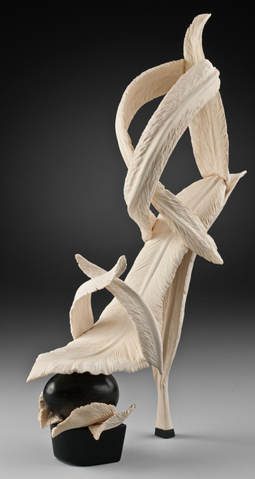 скульптуры из дерева Дениз Нильсен и Джордж Уортингтон 8 (372x700, 143Kb)