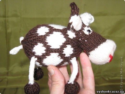 Ноги коровы : на туловище
