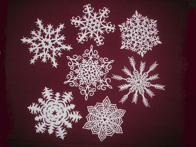 Снежинки своими руками фото инструкция