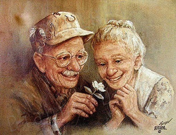 Счастливая старость (600x459, 124Kb)