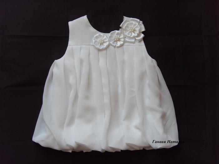 Сшить платье из шифона девочке своими руками