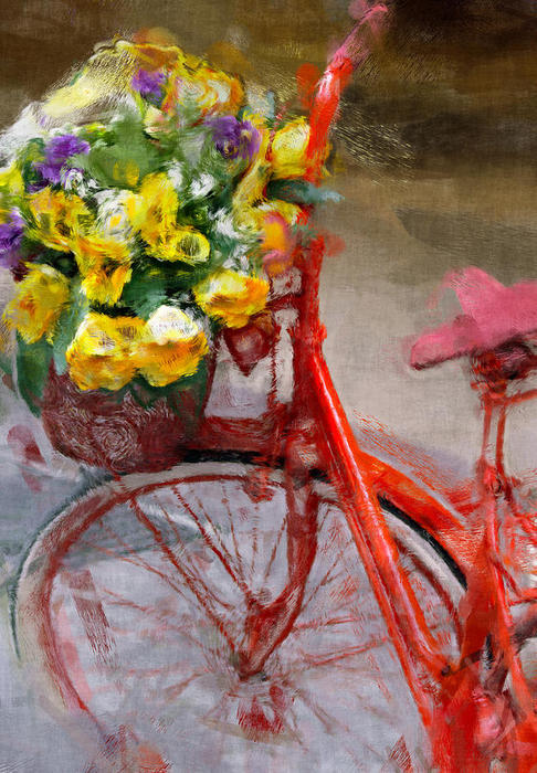 red-bicycle-painting-vaidas-bucys (486x700, 98Kb)
