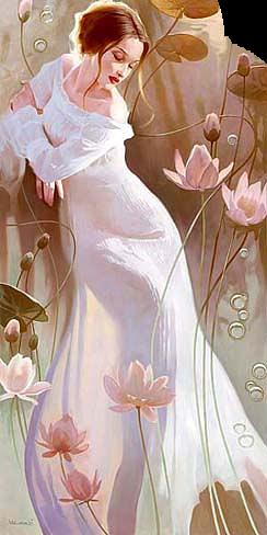 Женщина розовая (244x488, 246Kb)