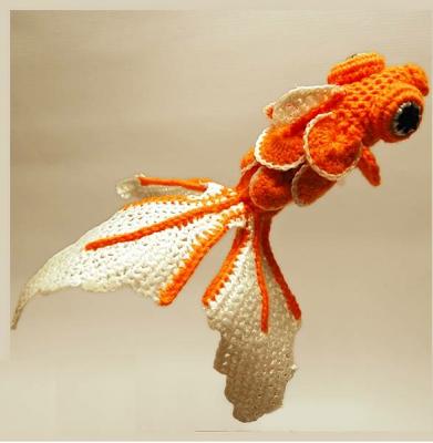 "Макраме ""Рыбка золотая"""