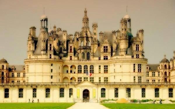 Замок Шамбор. Франция (600x375, 203Kb)