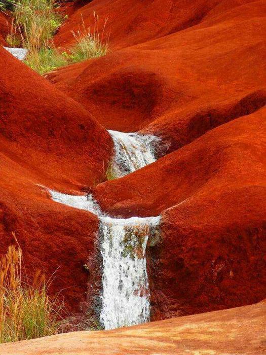 Остров-сад Кауаи, Гавайи (525x700, 510Kb)