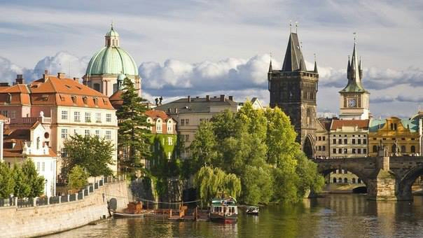Прага, Чехия (604x340, 207Kb)