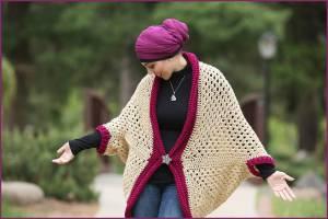 How to Crochet Tutorial DIY Heart Bookmark by YARNutopia