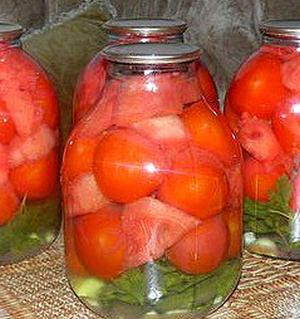 помидоры+арбуз