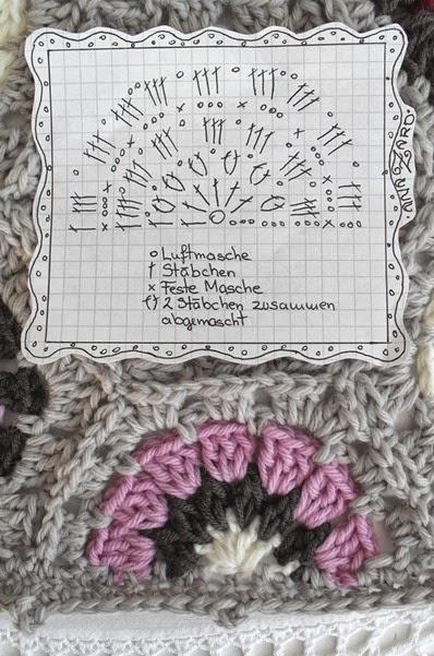 Mantas y almohadas gancho.  Diagramas de (16) (398x601, 245Kb)