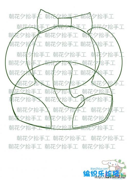 Львенок и слоненок - шьем детскую сумочку (7) (495x700, 221Kb)