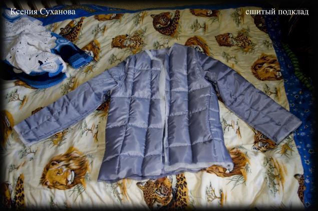 Как сшить куртку с подкладкой 36