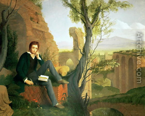 imagery in ode to the west wind by p b shelley essay