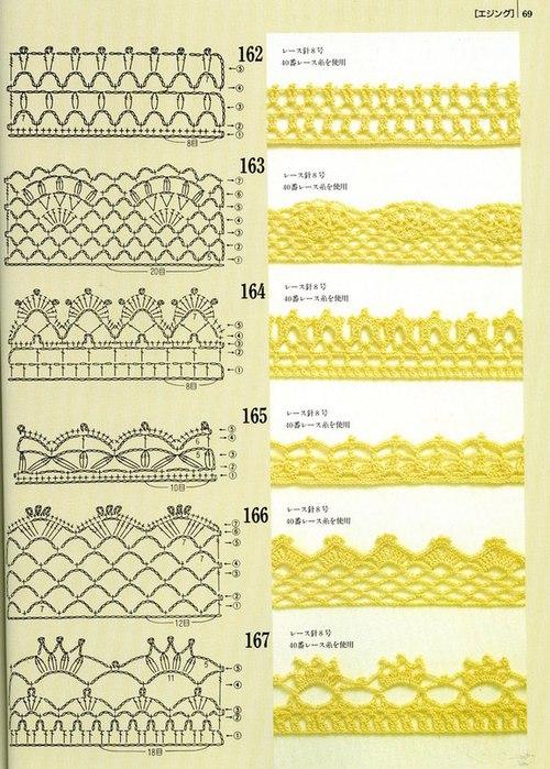 Часть 30 - Узоры для вязания