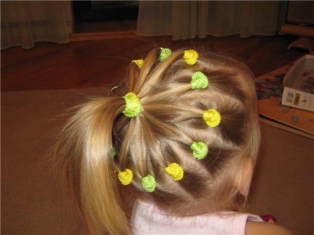 Детские причёски девочки