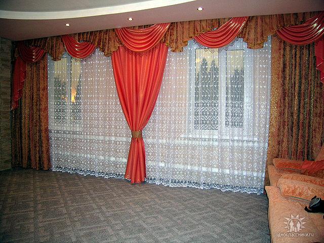 Шьем шторы для залы своими руками 108