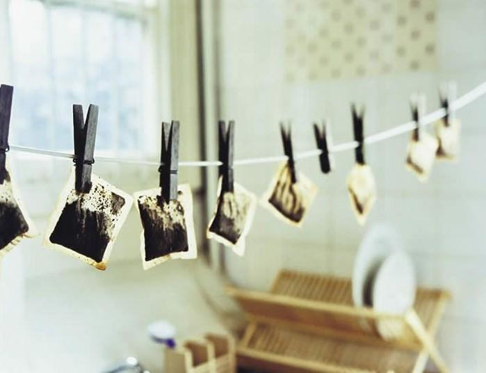 11 способов использования чайных пакетиков после приготовления чая