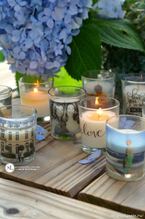 Custom Photo Candle Holders  michaelsmakers DIY Packing Tape Transfers _zps3yfm1v2e (465x700, 226Kb)