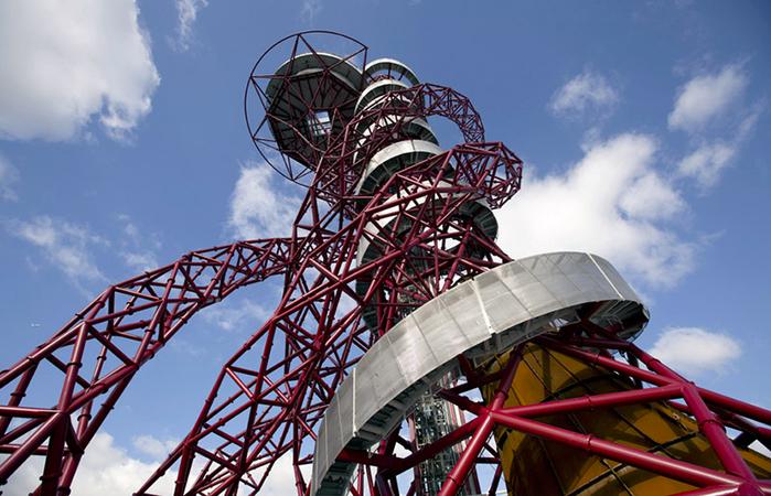 смотровая башня ArcelorMittal Orbit лондон 4 (700x450, 393Kb)