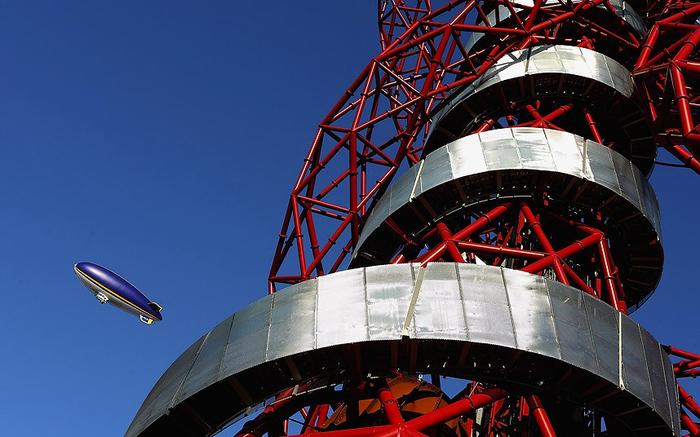 смотровая башня ArcelorMittal Orbit лондон 5 (700x437, 329Kb)