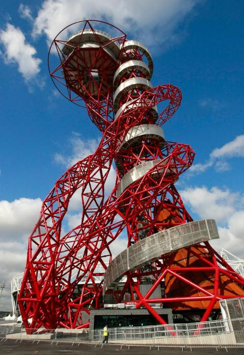 смотровая башня ArcelorMittal Orbit лондон 6 (481x700, 445Kb)