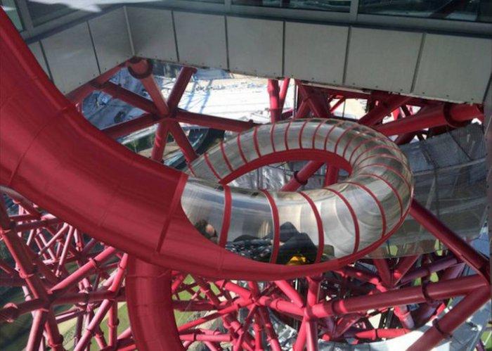 смотровая башня ArcelorMittal Orbit лондон 7 (700x499, 283Kb)