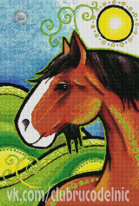 Огненный конь (472x700, 636Kb)
