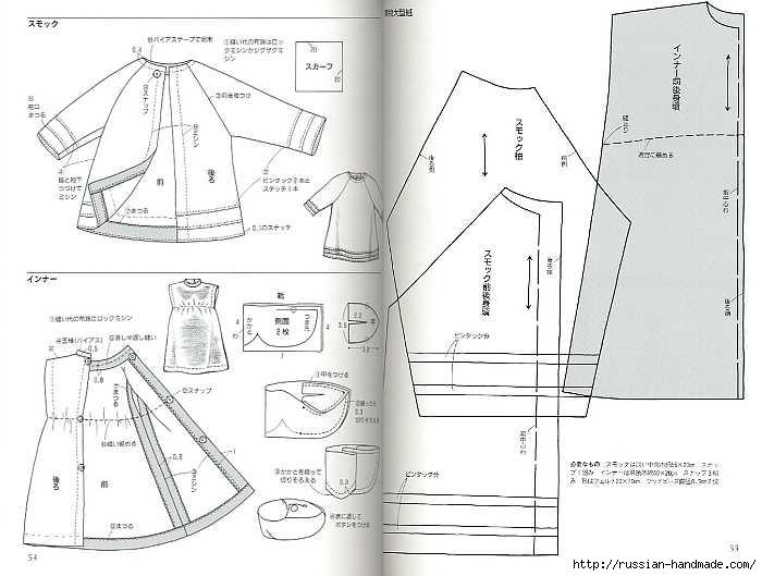 Как сшить японскую куклу. Журнал с выкройками (23) (700x529, 136Kb)