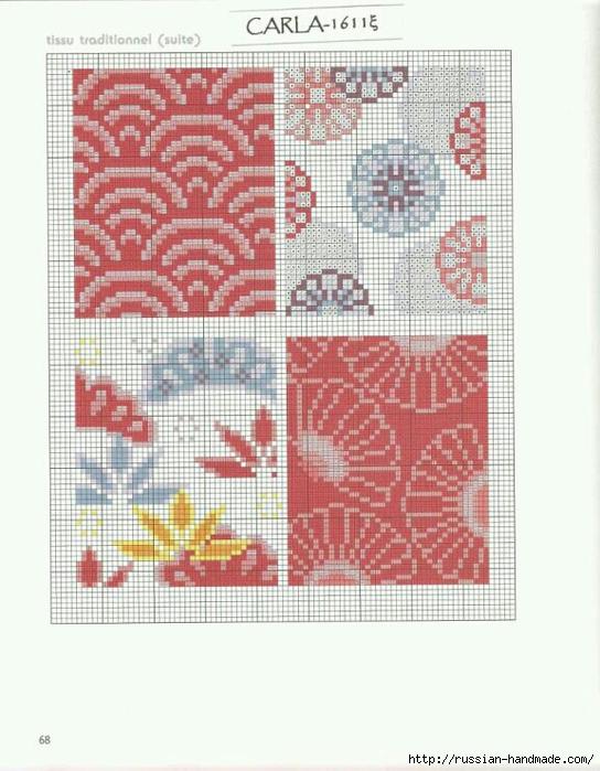 Вышивка в японском стиле. Схемы (4) (544x700, 251Kb)