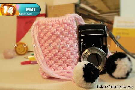 Макраме. Мешочек для фотоаппарата или телефона (21) (450x300, 107Kb)